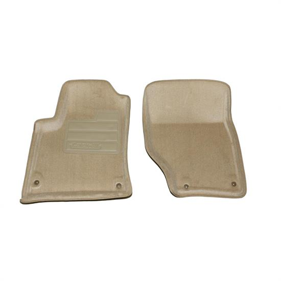 LUND 609970 Catch-All Floor Mat 2 pc Front Beige, Cayenne/Touareg