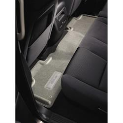 LUND 624430 Catch-All Floor Mat 2nd Seat Gray 87-95 Jeep Wrangler