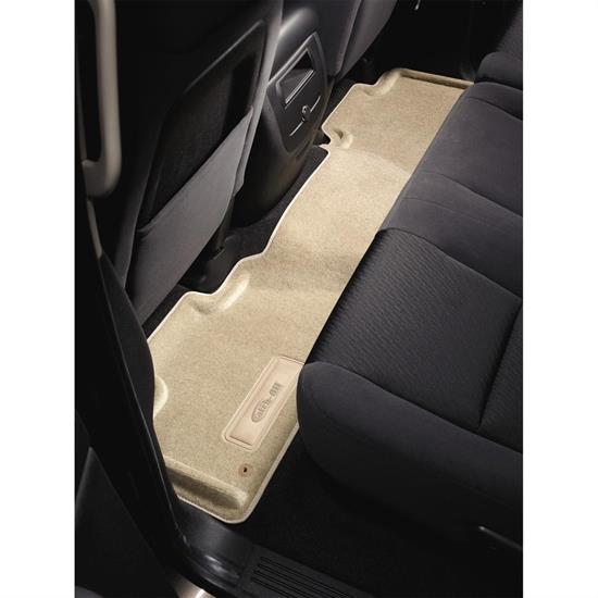 LUND 651853 Catch-All Floor Mat 2nd/3rd Row Beige, 01-06 Yukon XL