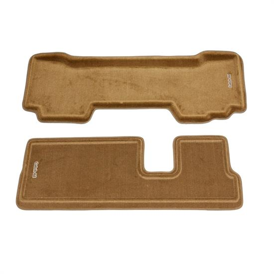LUND 654839 Catch-All Floor Mat 2nd/3rd Row Beige, 03-08 Pilot