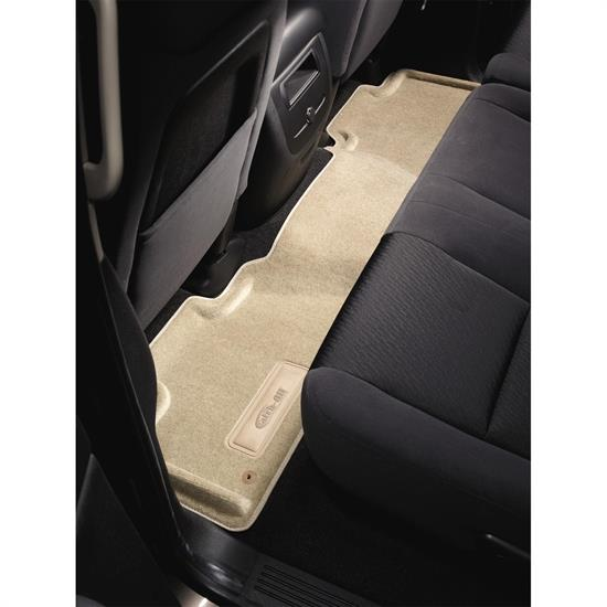 LUND 657772 Catch-All Floor Mat 2nd/3rd Row Tan, 03-05 Aviator