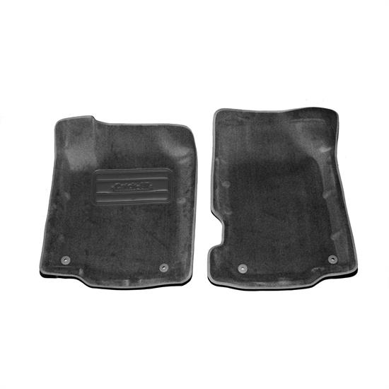LUND 798940 Catch-All Floor Mat 2 pc Front Black, Volkswagen