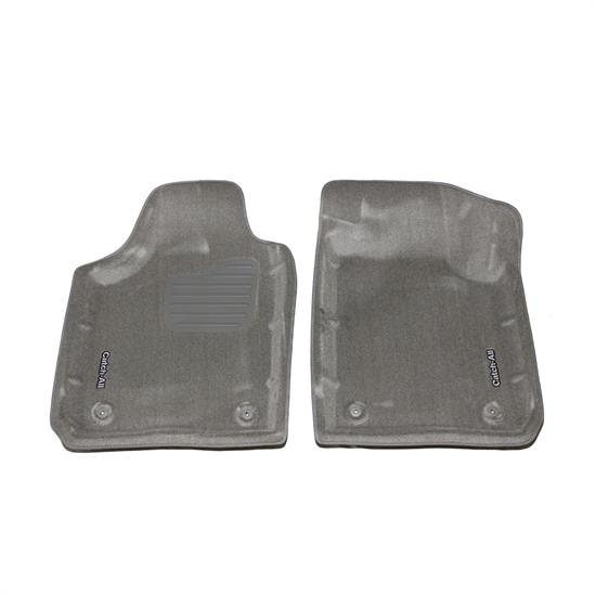 LUND 799338 Catch-All Floor Mat 2 pc Front Gray, Buick/Chevy/Olds