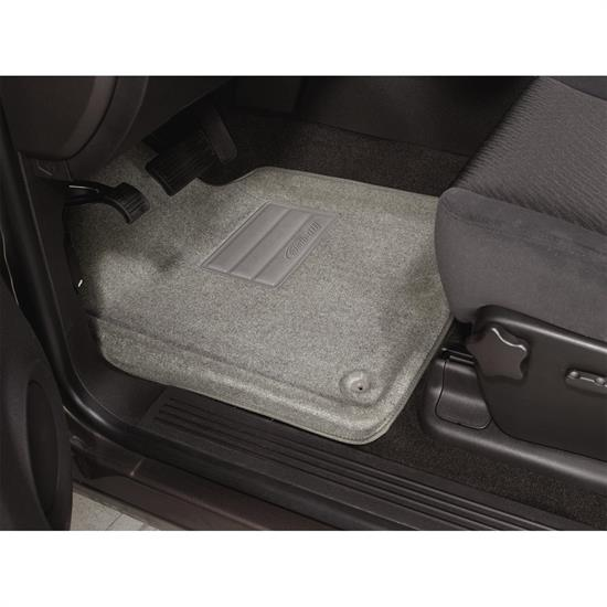 LUND 799738 Catch-All Floor Mat 2 pc Front Gray, Malibu/Alero