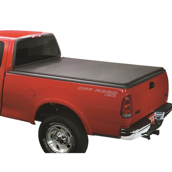 LUND 90037 Genesis Snap Tonneau Black Leather Look, F-150