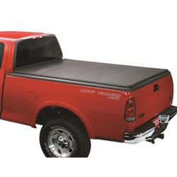 LUND 90094 Genesis Snap Tonneau Black Leather Look, Chevy/GMC