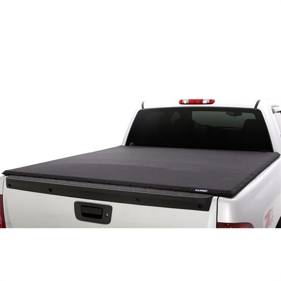 LUND 90950 Genesis Elite Snap Tonneau Black, Ford
