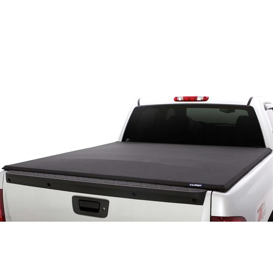 LUND 96887 Genesis Elite Roll Up Tonneau Black, Dakota/Raider