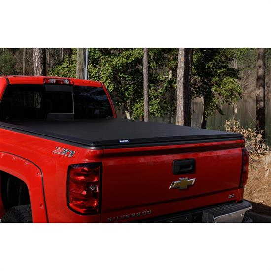 LUND 969252 Lund Hard Fold Tonneau Black, Dakota/Raider