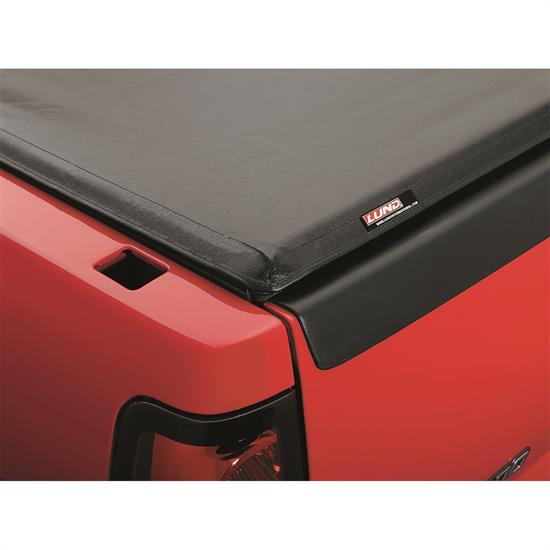 LUND 99051 Genesis Seal And Peel Tonneau Black Leather Look, Ford