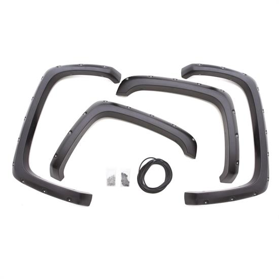 LUND RX103S Rivet Style Fender Flare Set F/R, Chevy/GMC