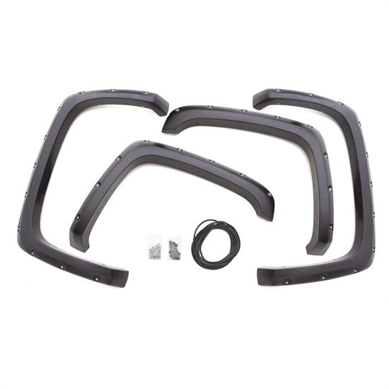 LUND RX103T Rivet Style Fender Flare Set F/R, Chevy/GMC