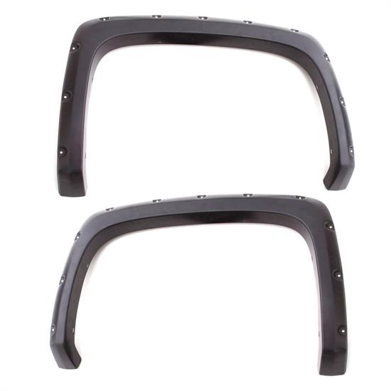 LUND RX113-2SB Rivet Fender Flare Set Rear 14-15 Silverado 1500