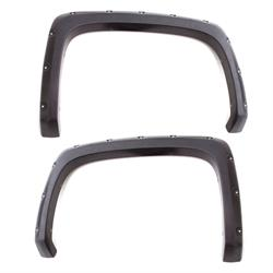 LUND RX119TB Rivet Style Fender Flare Set Rear, 15-17 Ford F-150
