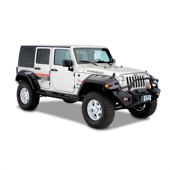 Bushwacker 10044-02 Max Coverage Pocket Fender Flares Wrangler