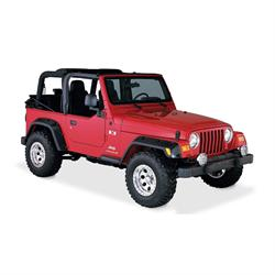 Bushwacker 10917-07 Pocket Style Fender Flares F/R 4pc, 97-06 Tj