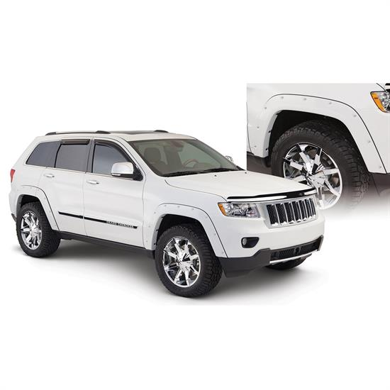 Bushwacker 10927-02 Pocket Style Fender Flares F/R Grand Cherokee