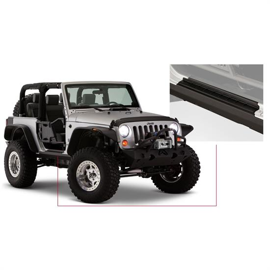 Bushwacker 14011 TrailArmor Rocker Side Panel/Sill Plate Wrangler