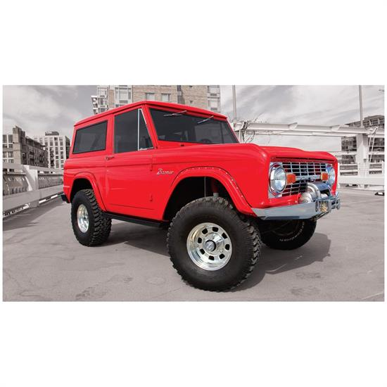 Bushwacker 20001-07 Cut-Out Fender Flares Fr Screw Pocket Bronco