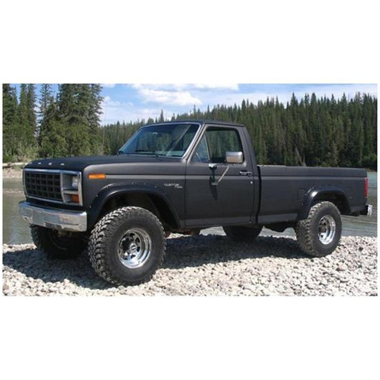Bushwacker 20011-11 Cut-Out Fender Flares Fr Screw Pocket Ford