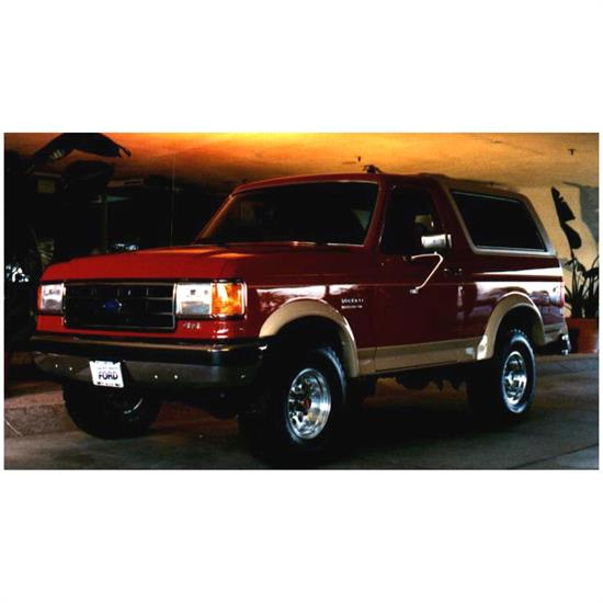 Bushwacker 20015-01 Extend-A-Fender Flares Front Pair, Ford