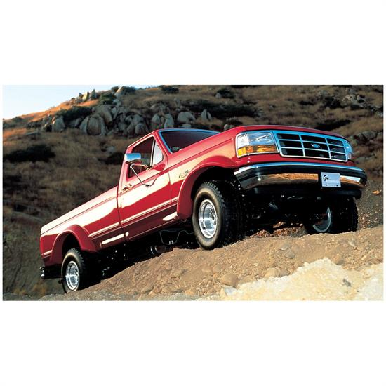 Bushwacker 20020-11 Extend-A-Fender Flares Rear Pair, Ford