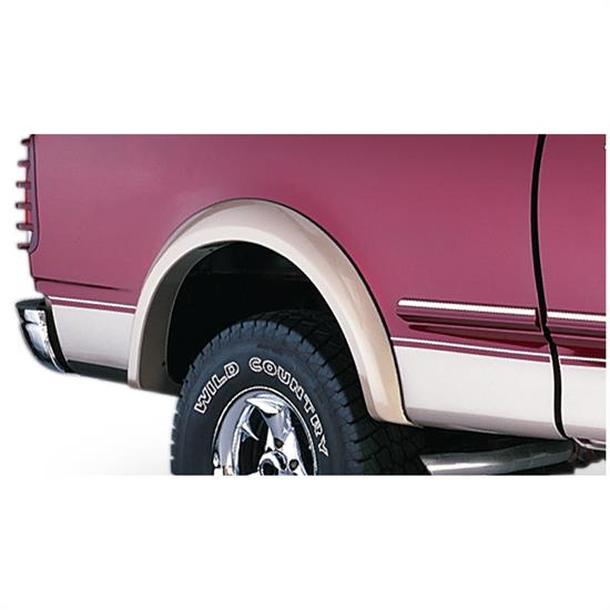 Bushwacker 20034-11 Extend-A-Fender Flares Rear Pair, F-150