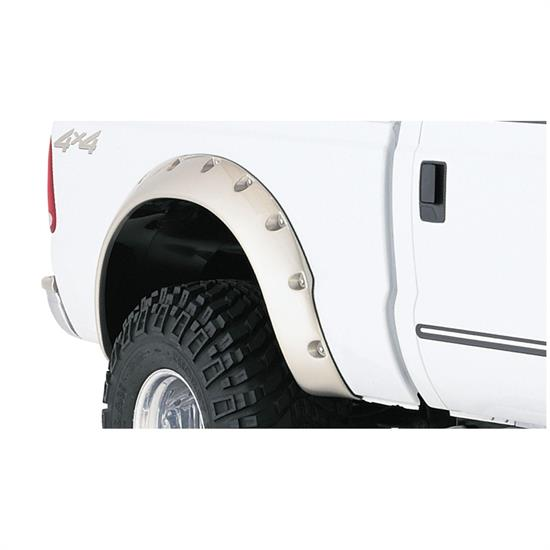Bushwacker 20046-02 Cut-Out Fender Flares Screw Pocket F250/F350