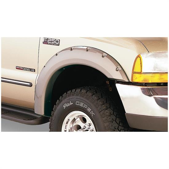 Bushwacker 20049-02 Pocket Style Fender Flares Front Pair, Ford
