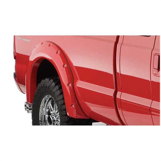 Bushwacker 20050-02 Pocket Style Fender Flares Rear F-250/F-350