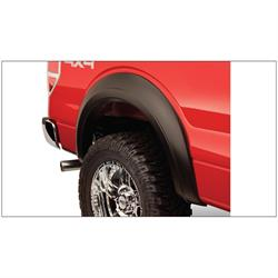 Bushwacker 20070-02 Extend-A-Fender Flares Rear Pair, 09-14 F-150