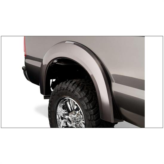 Bushwacker 20076-02 Extend-A-Fender Flares Rear Pair, F-250/F-350