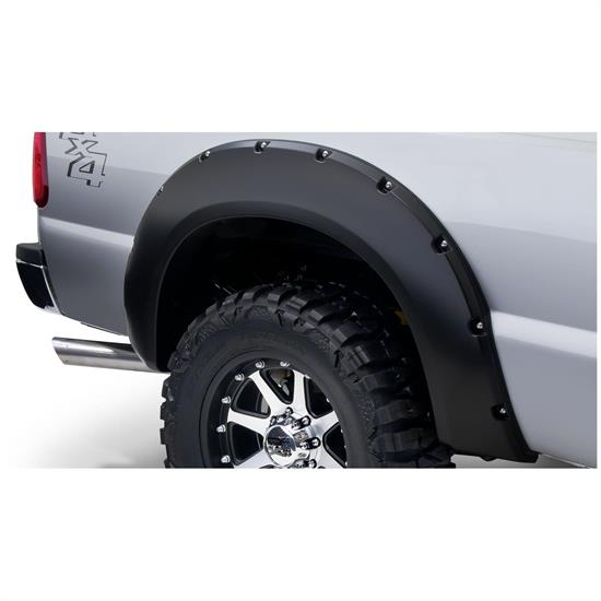 Bushwacker 20084-02 Pocket Style Fender Flares Rear F-250/F-350