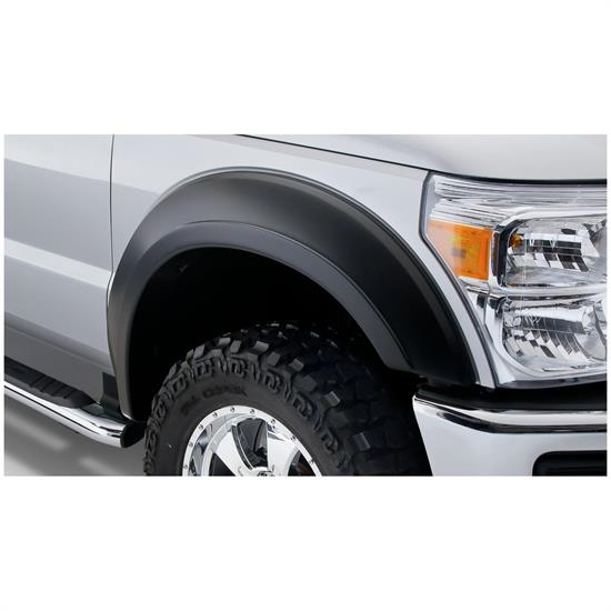 Bushwacker 20085-02 Extend-A-Fender Flares Front Pair, Ford