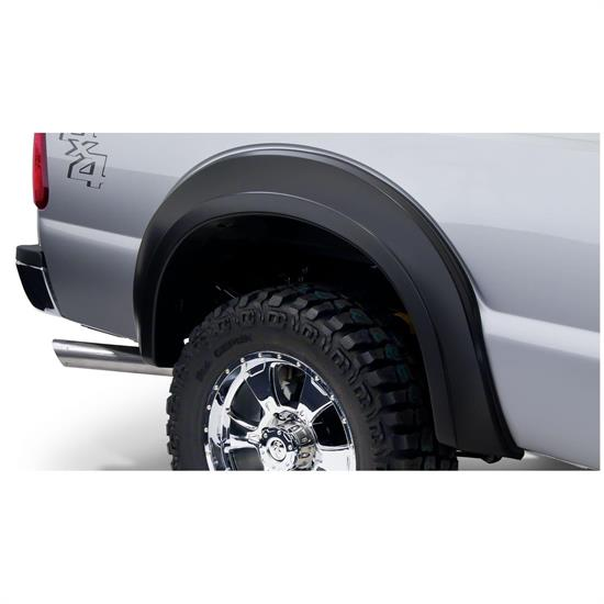 Bushwacker 20086-02 Extend-A-Fender Flares Rear Pair, Ford