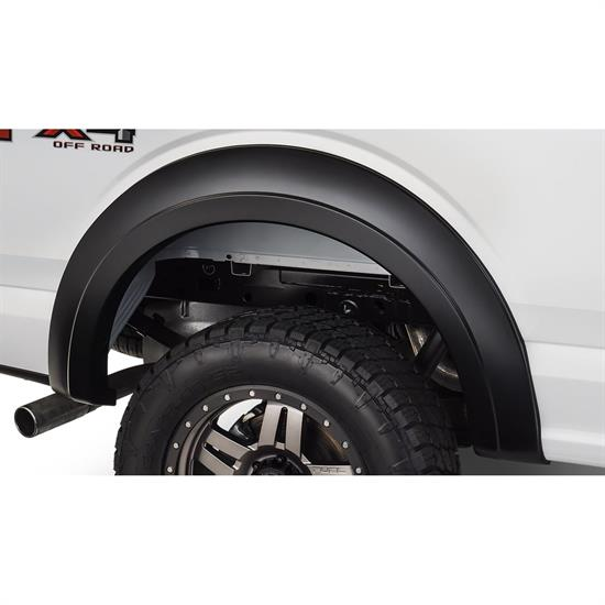 Bushwacker 20094-02 Extend-A-Fender Flares Rear Pair, 15-17 F-150
