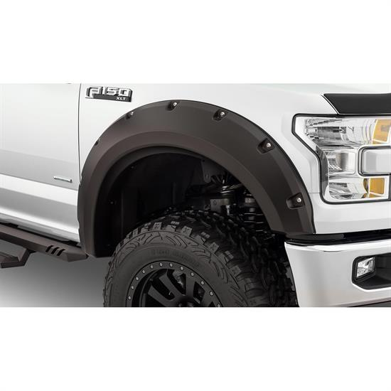 Bushwacker 20099-02 Max Coverage Pocket Fender Flares Front F150