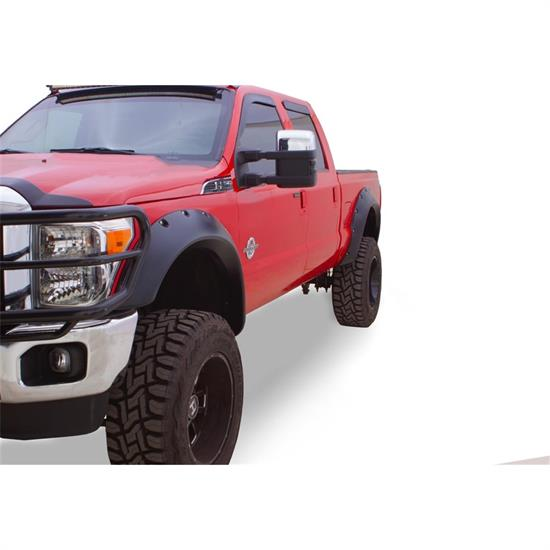 Bushwacker 20101-02 Cut-Out Fender Flares Front Pair, F-250-F-450