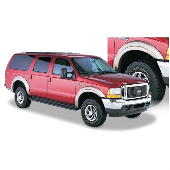 Bushwacker 20910-02 OE Style Fender Flares F/R 00-05 Excursion