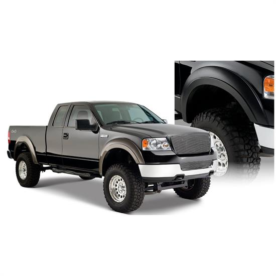 Bushwacker 20915-02 Extend-A-Fender Flares F/R Set/4, 04-08 F-150
