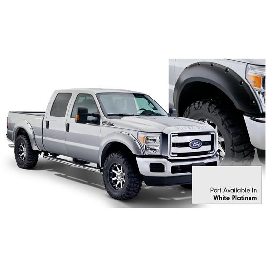 Bushwacker 20931-22 Pocket Painted Fender Flares F/R F250/F350