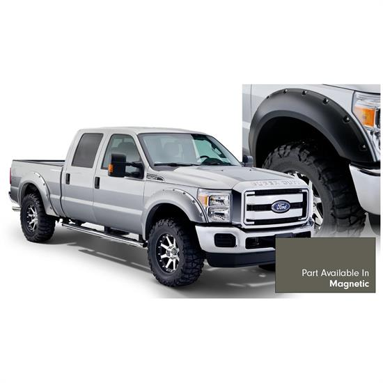 Bushwacker 20931-6A Pocket Painted Fender Flares F/R F250/F350