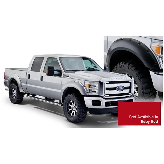 Bushwacker 20931-72 Pocket Painted Fender Flares F/R F250/F350