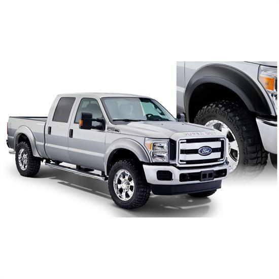 Bushwacker 20932-02 Extend-A-Fender Flares Set/4, Ford