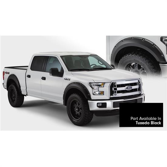 Bushwacker 20935-42 Pocket Painted Fender Flares F/R 15-15 F150