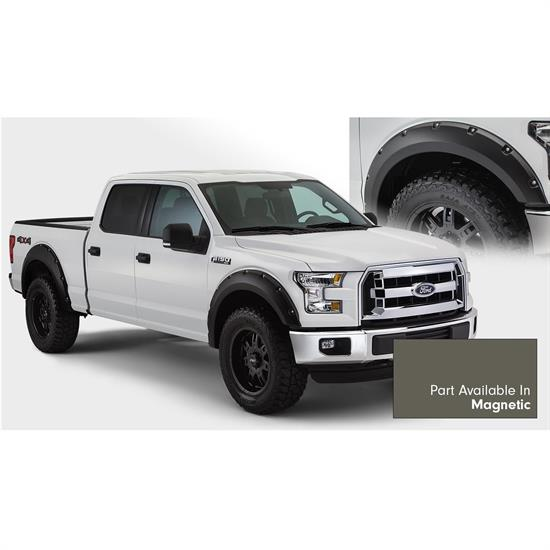 Bushwacker 20935-6A Pocket Painted Fender Flares F/R 15-17 F150