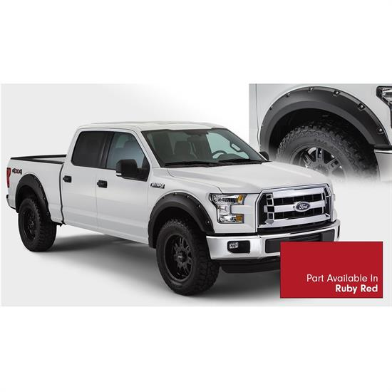 Bushwacker 20935-72 Pocket Painted Fender Flares F/R 15-16 F150