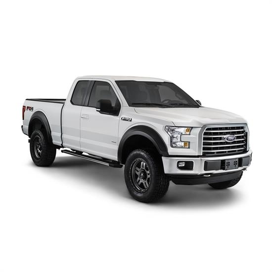 Bushwacker 20936-02 Extend-A-Fender Flares F/R Set/4, 15-17 F-150