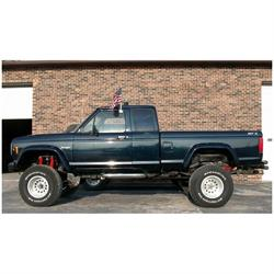 Bushwacker 21008-11 Cut-Out Fender Flares Rear 83-92 Ranger