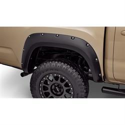 Bushwacker 30048-02 Pocket Style Fender Flares Rear 16-17 Tacoma